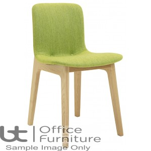 Elite Breakout Seating - Bill Wooden Frame Breakout Chair with Fabric Seat