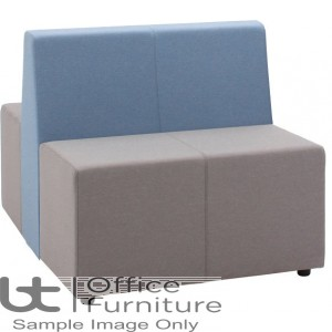 Verco Soft Seating - Box-It Landscape Two Double Units with a Double Back