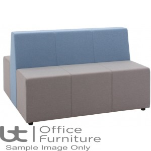 Verco Soft Seating - Box-It Landscape Two Treble Units with a Double Back