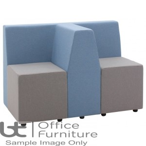 Verco Soft Seating - Box-It Landscape 2 x Single Units with a 'T' Back