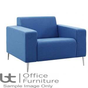 Verco Soft Seating - Bradley Single Couch with Two Arms