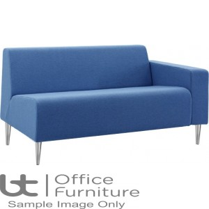 Verco Soft Seating - Bradley Two Seater Couch with a Right Hand Facing Arm