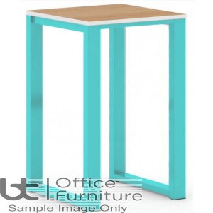 City 40/40 Robust 40mm Laminate Top School Bench Dining Low Stool (Premium Frame Colours)