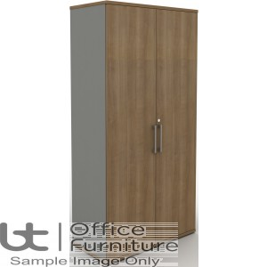 MB Storage Solutions -  Double Door Storage Unit 500mm Deep - (Silver Carcass as Standard)