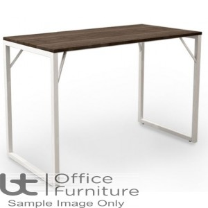 Robust Block Steel Frame High Bench Dining Table W1600 x D800 x H1100mm