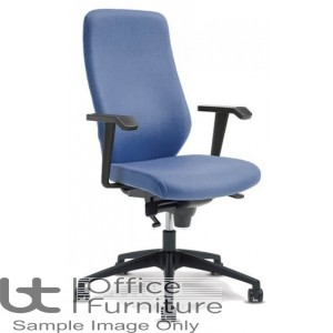 Verco Operator/Task Chair - Profile 24 High Back Task Chair with Arms