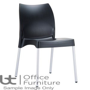 ZP ICON Side Chair – Black