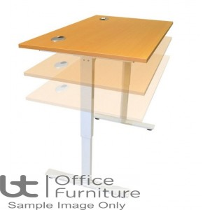 Aurora Electrical Height Adjustable Sit Stand Office Desk