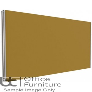 Innovate Venice Fabric Desk Mounted Straight Screen 380mm High - Linking