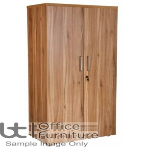 Aurora Executive Black Walnut Cupboard Complete with 2 Shelves