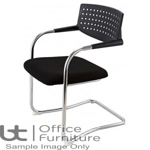 Aurora Seating - Medium Back Meeting Chair with Cantilever Frame