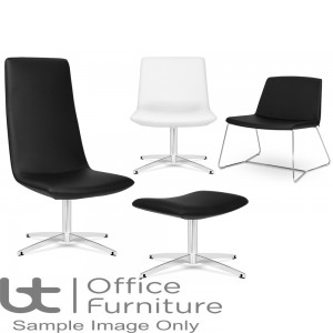Elite Lounge Seating - Leather Chique Lounge Chairs