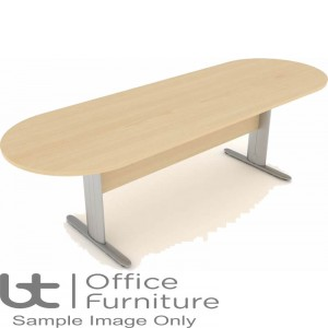 Elite Optima Plus Table - I Frame Double D Ended Meeting Table