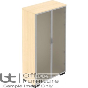 Elite Storage Solutions Opaque Glass Doors Unit 500mm Deep - Carcass Only