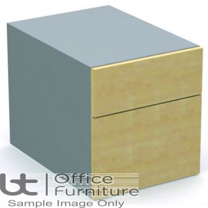MB Storage Solutions - Fixed 2 Drawer MFC Pedestal