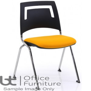 Verco Visitor Seating - Fly Plastic Back Stacking Chair