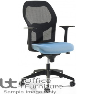 Verco Operator/Task Chair  - Mesh Medium Back Task Chair with Arms