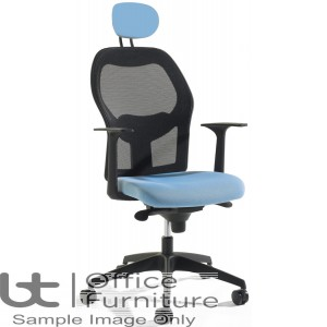 Verco Operator/Task Chair  - Mesh High Back Task Chair with Arms