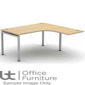 Soho2 Extended Crescent Desk For Supporting Pedestal D1600 x W1600mm