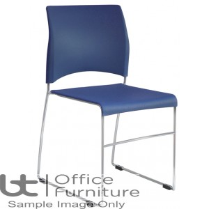 Verco Visitor / Conference Seating - Sting Medium Back Plastic Stacking Chair
