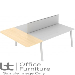Elite Linnea Table - Straight Extension (with acoustic dividing screens)