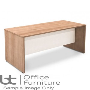 Robust Block Panel Frame Bench Dining Table W1800 x D800 x H740mm