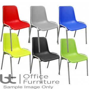 Aurora Seating - Polyproylene Shell with Textured Finish Stacking Chairs