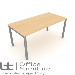 Elite Matrix Table - Height Settable Meeting Table 1000mm Deep Ends