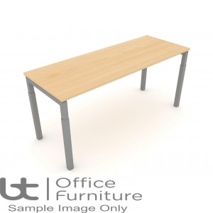 Elite Matrix Table - Height Settable Meeting Table 800mm Deep Ends