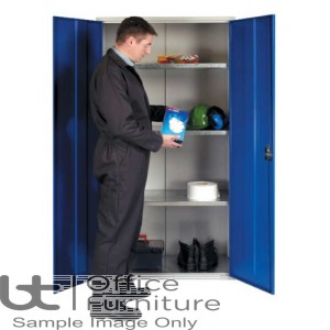 PPE Cabinet with Shelves