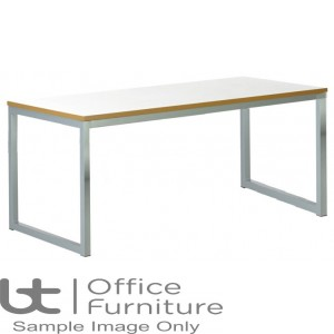 Urban 40/40 Robust 25mm Laminate Top School Bench Dining Table W1800mm (Std Frame Colours)