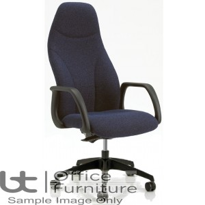 Verco Operator/Task Chair - Select 24 High Back Task Chair with Arms