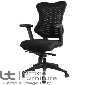 Aurora Seating - High Back Mesh Support Spine Armchair