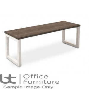 Robust Block Steel Frame Bench Seat W1600 x D350 x H410mm