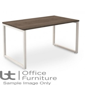 Robust Block Steel Frame Bench Dining Table W1400 x D800 x H740mm