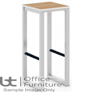 Urban 40/40 Robust 25mm Laminate Top School Bench Dining High Stool (Std Frame Colours)