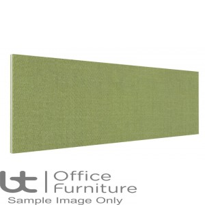 Innovate Venice Fabric Desk Mounted Straight Screen 480mm High - Non Linking