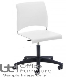 Verco Visitor / Conference Seating - Sting Medium Back Plastic Swivel Chair