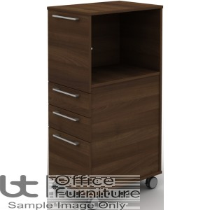 MB Storage Solutions -  Open Top Box and 3 Drawer Mobile Pedestal
