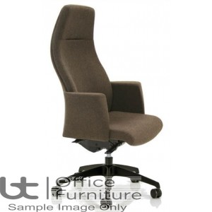 Verco Executive Seating - Verve2 HIgh Back Task Chair with Arms