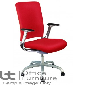 Verco Operator/Task Chair - V-Smart High Back Task Chair with Arms