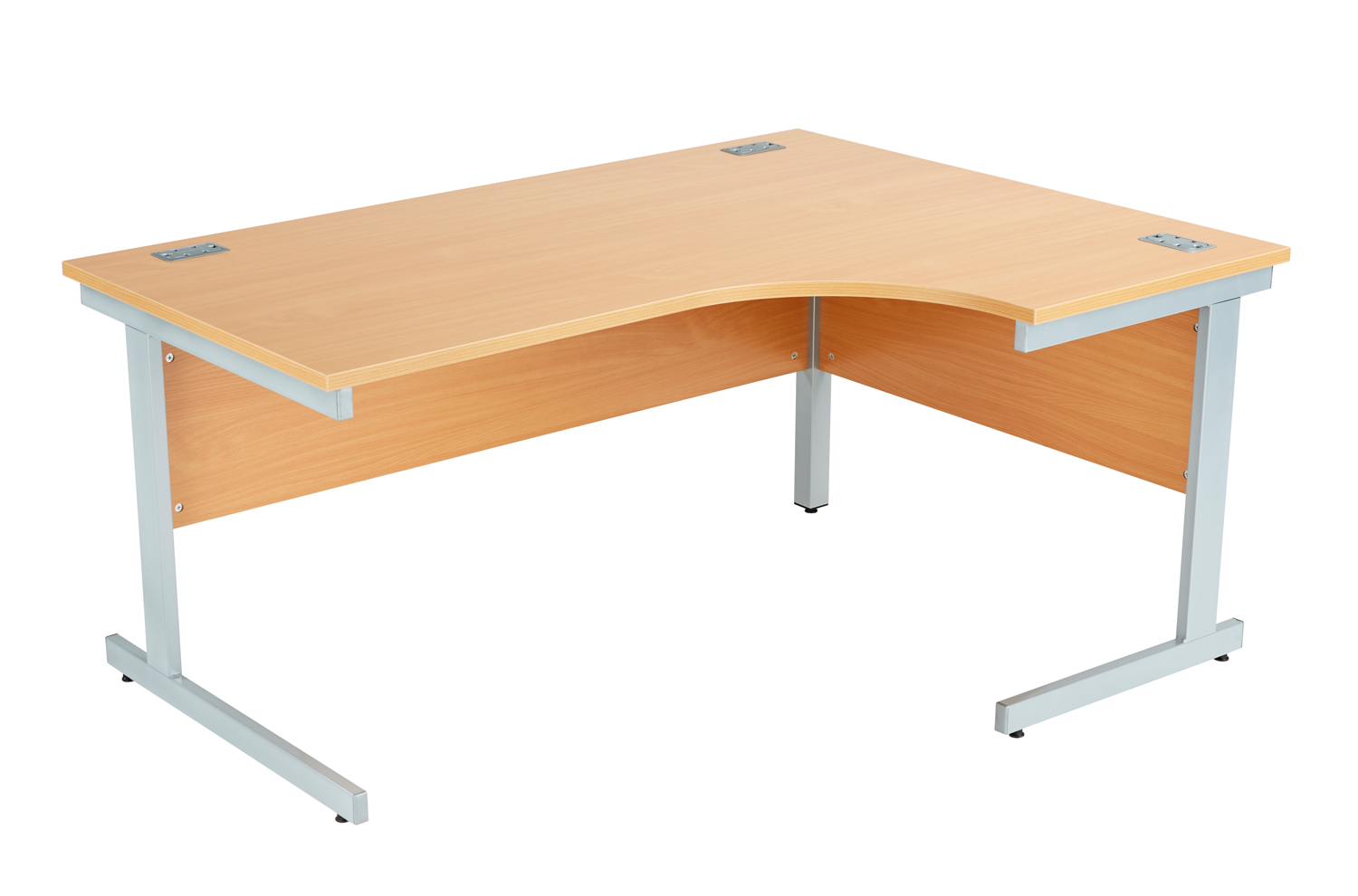 classic office desk. Right Hand Classic Cantilever Leg Crescent Desk - 1400 X 730 800-1200 Office