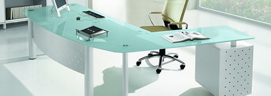 Executive Glass Office Desks